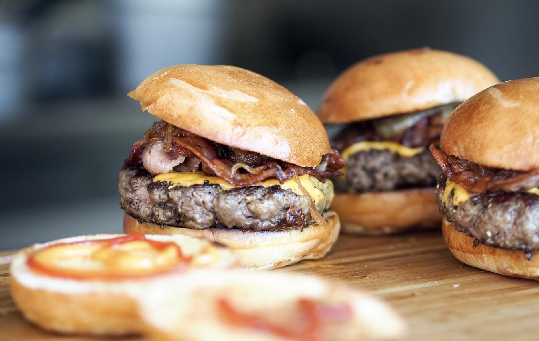 Des hamburgers