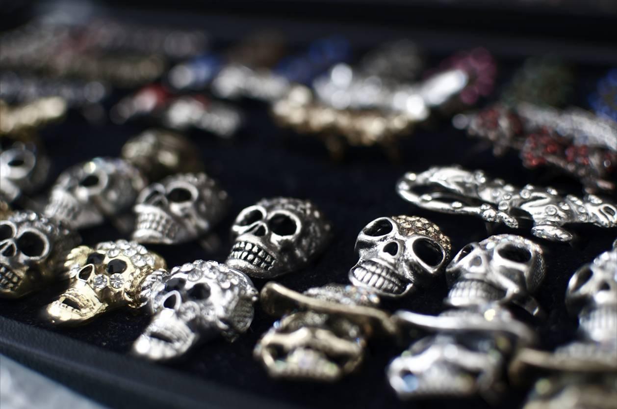 bijou skull