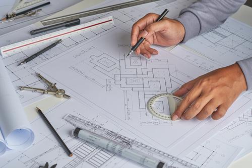 plan architecture maison