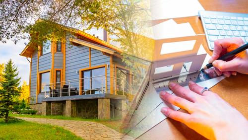 maison construction et plan